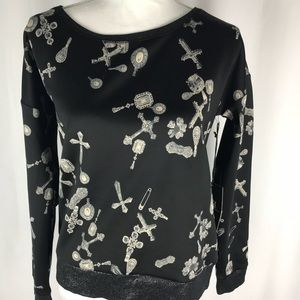 Sweaters - Rock & Republic cross pullover NWT